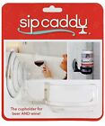 SipCaddy Bath & Shower Portable Cupholder Caddy for Beer & Wine Suction Cup D...