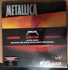 METALLICA - RELOAD  -  45RPM 180 gr VINYL BOX SET
