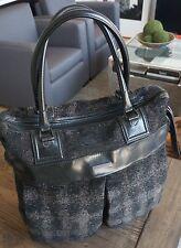 723601e78130 Mens 100% Authentic Burberry Prorsum Wool Runway Tote Bag