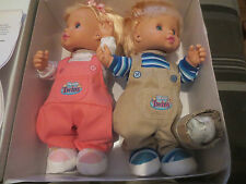 TALKING INTERACTIVE TWINS DOLLS SPEAKS SPANISH
