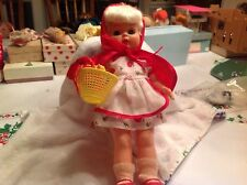 Red riding hood doll 50's original