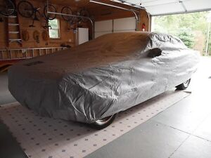 1965-1968 Ford Mustang 4-Layer Outdoor Car Cover - Fastback Custom Fit