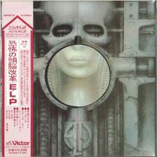 EMERSON LAKE PALMER - BRAIN SALAD SURGERY-JAPAN MINI LP CD OBI NEUF VICP-62118