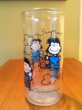 Lucy On Swing Vintage Jelly Glass Tumbler 1952 Charlie Brown & The Peanuts Gang
