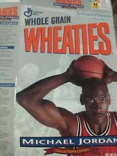 Vintage Michael Jordan Whole Grain Wheaties A Collector's Edition Wheaties Box