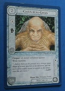 Middle Earth CCG Lidless Eye Wizards Limited Uncommon Ghan-Buri-Ghan