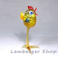 Animale personaggio pulcini di vetro fatto a mano vetro personaggio BEL REGALO 12 cm di altezza