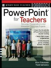 PowerPoint for Teachers: Dynamic Presentations and Interactive Classro-ExLibrary
