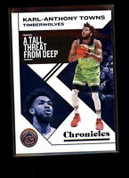 2019-20 Panini Chronicles Base Card #17 Karl-Anthony Towns Timberwolves