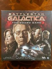 Battlestar Galactica Board Game - Complete - Out of Print and Rare.