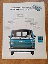 1966 GMC Handi Van Ad  Handi-Van has 7 Great Features