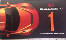 Brand New Saleen 1 Performance Redefined Supercar Catalogue