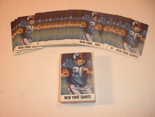 1960's New York Giants Full Deck of NFL Playing Cards
