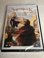 Superbook - Jesus in the Wilderness (DVD) Animated Christian NEW (3A12 GS)