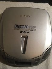 Sony Groove Discman d-e 401 Portable CD Player ESP2