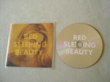 RED SLEEPING BEAUTY Kristina promo CD album