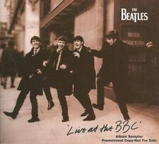 Beatles, Live At The BBC, NEW* RARE UK 9 track album PROMO sampler CD