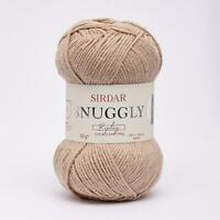 Sirdar Snuggly Replay Double Knitting Wool Yarn 50g - 104 Boogie Board Brown