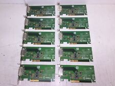 """""""Lot of 10"""" Dell 0FH868 FH868 ADD2-N PCI-Express DVI-D Low Profile Adapter"""