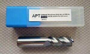 APT 20mm 3 Flute Carbide Roughing End Mill for Aluminium EA3R-20200100