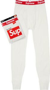 Supreme / Hanes - Thermal Pant (1 Pack) - Natural - [Medium]