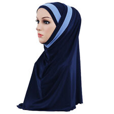 Muslim Hijab Women Under Scarf Criss Cross Bonnet Ninja Head Cover Inner Cap New