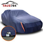 Full Cover PEVA Blue Waterproof Dust Heat Rain UV Resist All Weather Protection  for sale
