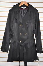 Women DKNY Hooded(Detachable) Double-Breasted Trench Coat. Sz.XXL $180.
