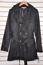 Women DKNY Hooded(Detachable) Double-Breasted Trench Coat. Sz.XXL $180.