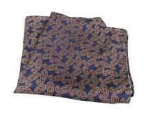 Pochette uomo blu fantasia paisley grigia bordeaux elegante fazzoletto in seta