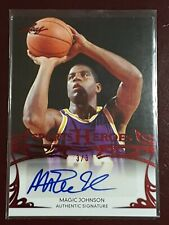 2013 Leaf Trading Cards ERVIN MAGIC JOHNSON Auto #3/3 Sports Heroes