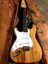 NEW LEFTY 12 STRING STRAT STYLE ELECTRIC GUITAR NATURAL HARD TAIL LEFT HANDED