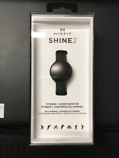 MISFIT SHINE 2 Carbon Black Unisex Activity and Sleep Tracker - New and Sealed