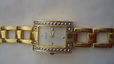Haband Quartz Ladies / Women's Gold platted Wristwatch-Pre-owned