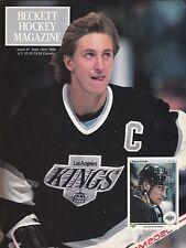 BECKETT HOCKEY MAGAZINE #1 SEPT/OCT 1990 WAYNE GRETZKY LOS ANGELES KINGS NHL
