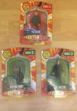 Doctor Who Figures New Set Of 3 Including The Doctor And Weeping Angel