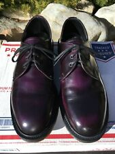 Dr Martens Purple 3-eye shoes 9 arcadia ENGLAND steed MIE langston gibsons 1461