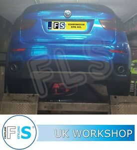 BMW X6 E71 2007-2019 Stainless Steel Exhaust Custom Back Box Supply and Fitted