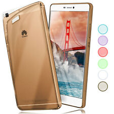 Silicone Skin Case for Huawei P8 Cases Transparent Ultra Thin TPU Back Cover