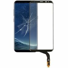 Reparación pantalla vidrio pantalla táctil para Samsung Galaxy s8 plus g955f LCD negro