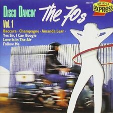 Disco Dancin' 1 Hues Corporation, Baccara, Tymes, Amanda Lear, Odyssey, C.. [CD]