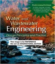 Water and Wastewater Engineering by Mackenzie Leo Davis(2010)(Int' Ed Paperback)