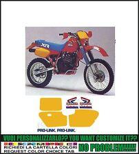 kit adesivi stickers compatibili xr 600r 1985