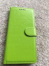Samsung galaxy green S9 wallet phone case brand new