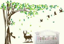 Unbranded Jungle Nursery Wall Stickers