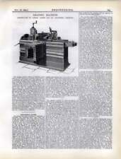 1892 Shaping Machine Constructed By Lister, Keighley