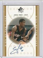 Eddie Jones 2000-2001 Upper Deck UD SP Authentic Sign of Times Autograph AUTO