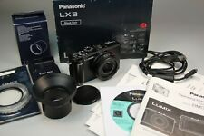 Panasonic LUMIX DMC-LX3 10.1MP Digital Camera - Complete with all accessories...