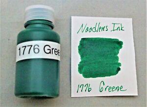 NOODLERS FOUNTAIN PEN INK 1776 GREENE 20ML