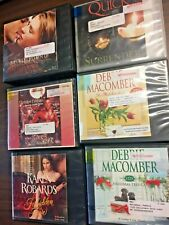Lot: 6 Books on CD Audio Romance Debbie Macomber Robards Quick  MORE Ex Lib (3)